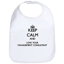 Keep Calm and Love your Management Consultant Bib