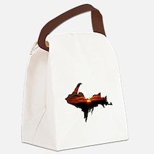 U.P. Sunrise Canvas Lunch Bag