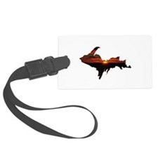 U.P. Sunrise Luggage Tag