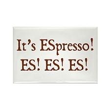 eSpresso Rectangle Magnet