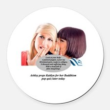 Cool Minaj Round Car Magnet