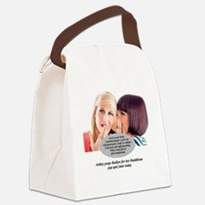 Cool Kardashian Canvas Lunch Bag