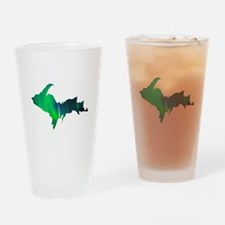 Aurora Borealis U.P. 2 Drinking Glass
