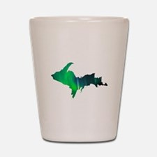 Aurora Borealis U.P. 2 Shot Glass