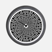 In God We Trust Wall Clock