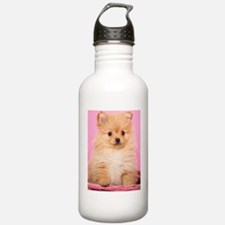 Butterscotch in Pink Water Bottle