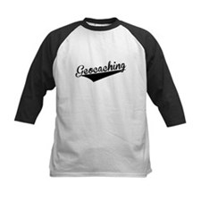 Geocaching, Retro, Baseball Jersey