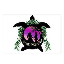 Just Maui'd Honu Logo Postcards (Package of 8)