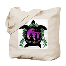 Just Maui'd Honu Logo Tote Bag