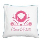 Class of 2016 Square Canvas Pillow