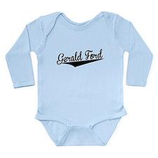 Gerald Ford, Retro, Body Suit