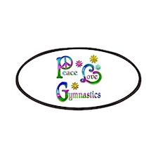 Peace Love Gymnastics Patches