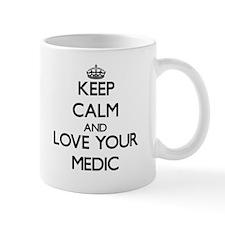 Keep Calm and Love your Medic Mugs