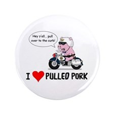 """I Heart Pulled Pork 3.5"""" Button"""