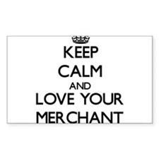 Keep Calm and Love your Merchant Decal