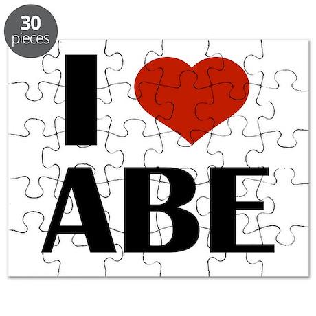 I Heart Abe Puzzle