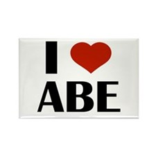 I Heart Abe Magnets