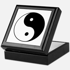 Yin Yang I-Ching Tao Keepsake Box