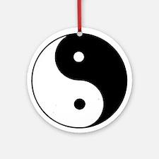Yin Yang I-Ching Tao Ornament (Round)