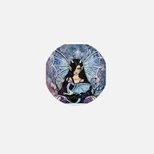 Sapphire Dragon Fairy Gothic Fantasy Art Mini Butt