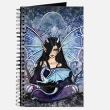 Sapphire Dragon Fairy Gothic Fantasy Art Journal