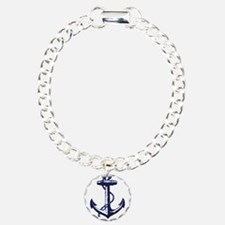 Tybee Island Ship Anchor Bracelet