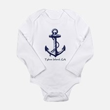 Tybee Island Ship Anchor Body Suit