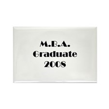 MBA Graduate 2008 Rectangle Magnet