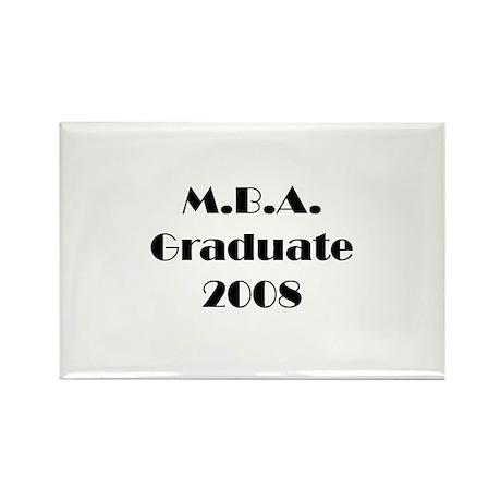 MBA Graduate 2008 Rectangle Magnet