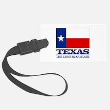 Texas State Flag Luggage Tag