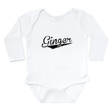 Ginger, Retro, Body Suit