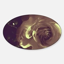 Rose - Twilight Time Sticker (Oval)