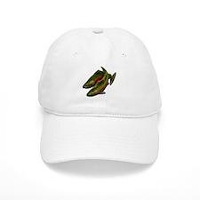 Gone Fishing Coho Salmon Baseball Cap