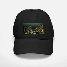 Gone Fishing Coho Salmon Baseball Hat