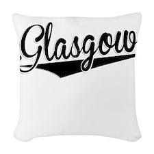 Glasgow, Retro, Woven Throw Pillow