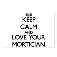 Keep Calm and Love your Mortician Postcards (Packa