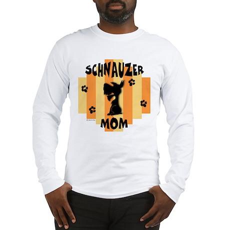 Schnauzer Mom Long Sleeve T-Shirt