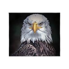 Bald Eagle Throw Blanket