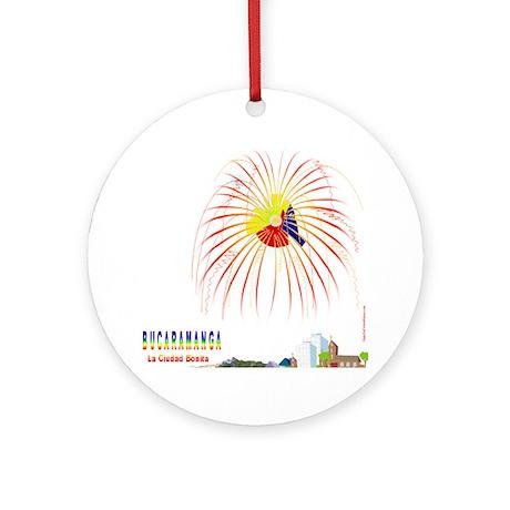Bucaramanga Ornament (Round)