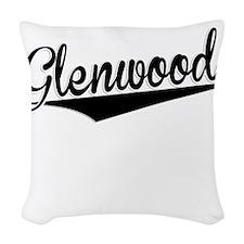 Glenwood, Retro, Woven Throw Pillow