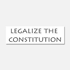 Funny Constitution Car Magnet 10 x 3