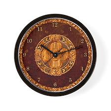Harvest Moons Celtic Mandala Wall Clock