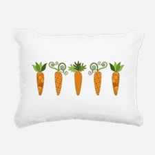 Carrots Rectangular Canvas Pillow
