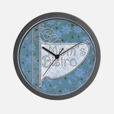 Harvest Moons Mom's Bistro Wall Clock