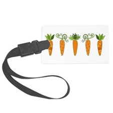 Carrots Luggage Tag