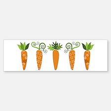 Carrots Bumper Bumper Bumper Sticker