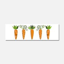 Carrots Car Magnet 10 x 3