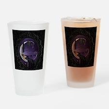 Sleeping Moon Drinking Glass