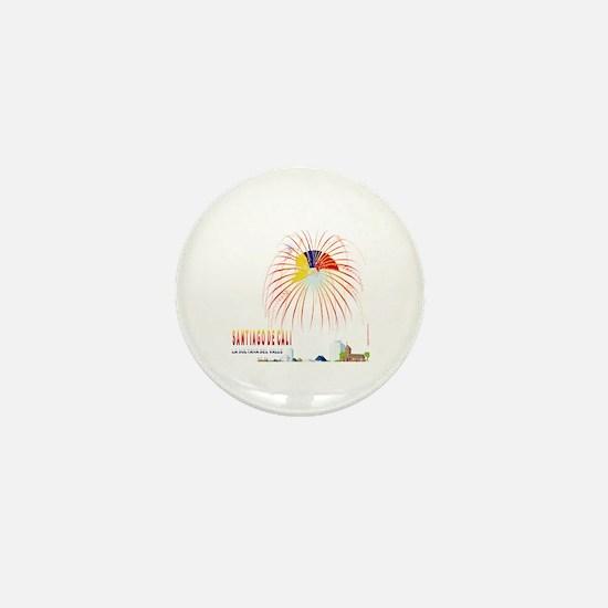 Cali Mini Button
