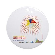 Cali Ornament (Round)